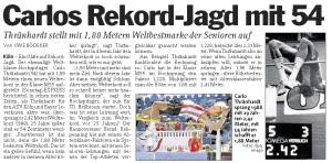 Presseartikel EXPRESS - Rekordjagd 10.06.2013